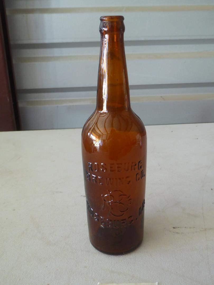 Lot # 99 - Vintage Roseburg Or. Brewing Co. Beer Bottle (main image)