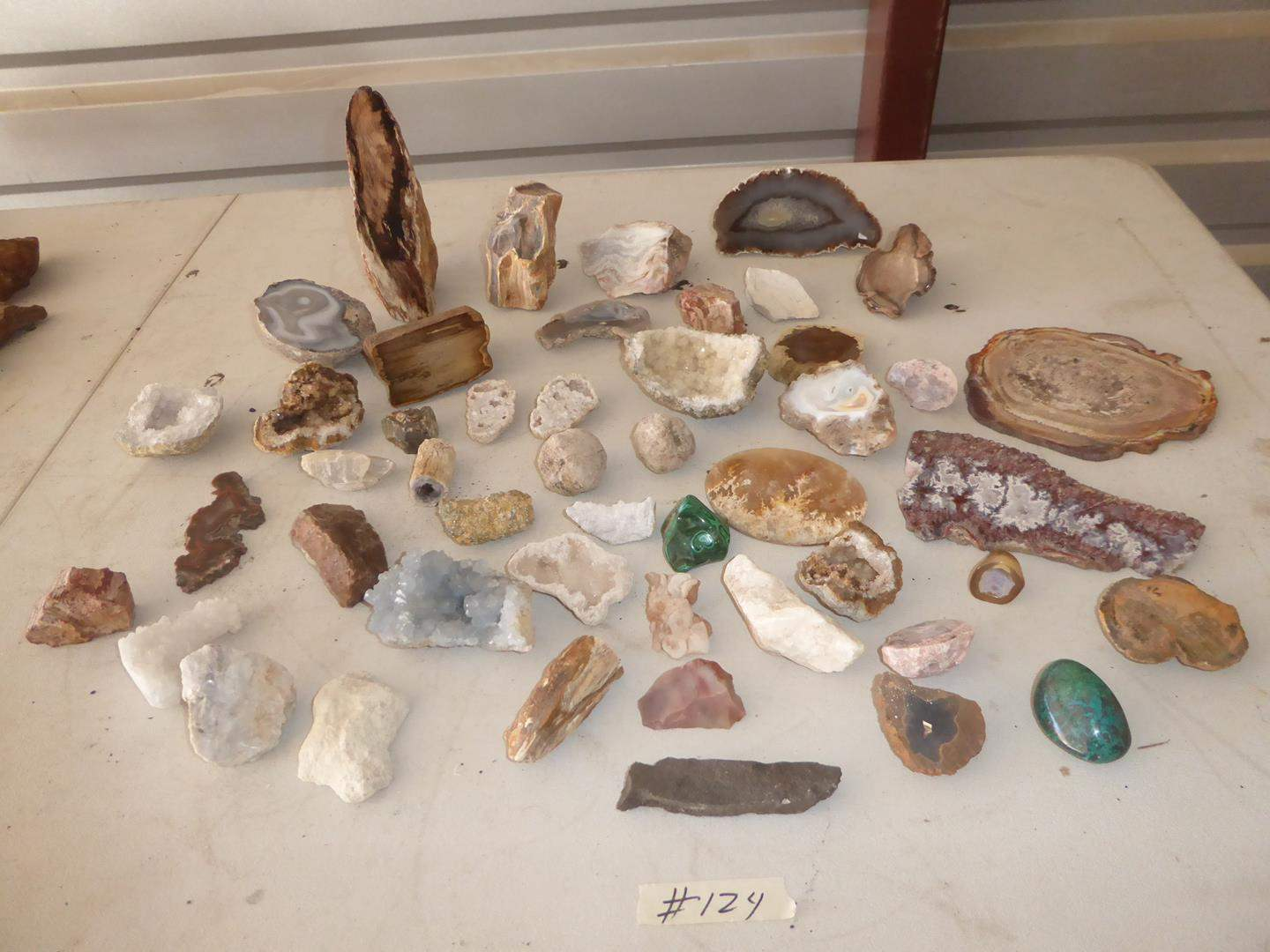 Lot # 124 - Geodes & Rocks Collection (main image)