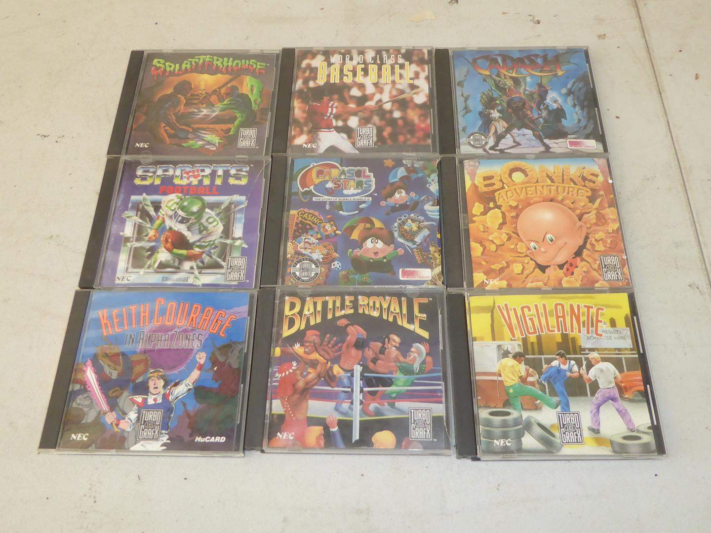 Lot # 141 - Turbo Chip Game Cards (main image)