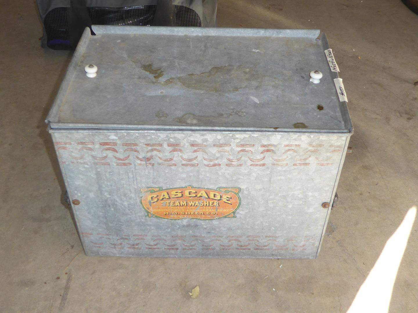 Lot # 151 - Antique Cascade Steam Washer (main image)