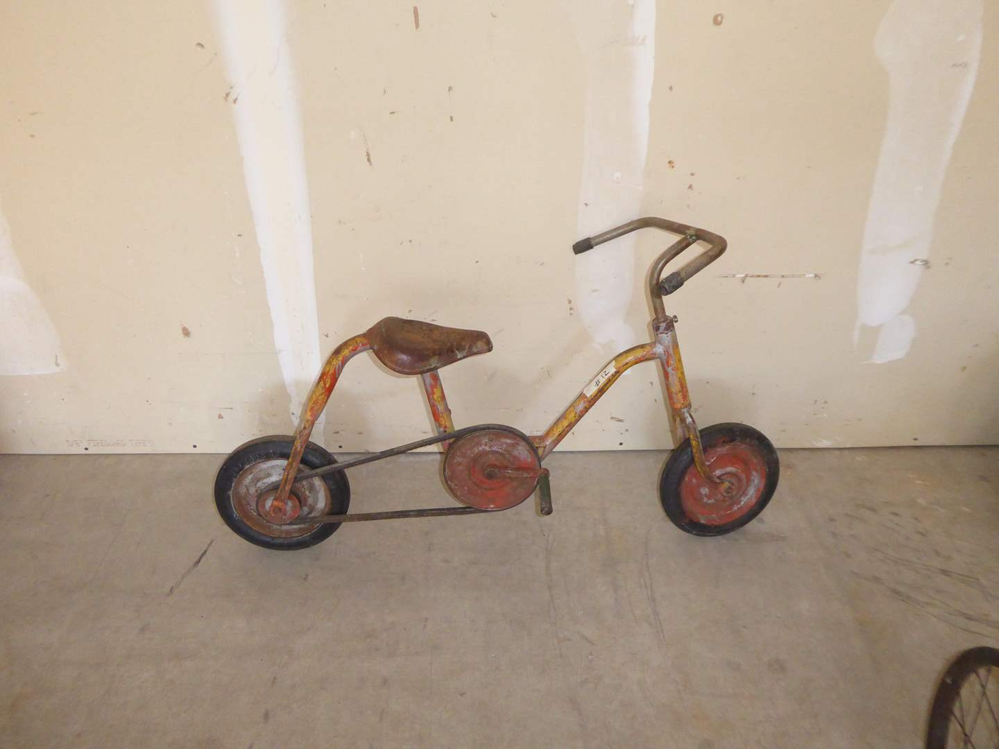Lot # 12 - Vintage Kids Bike W/Air Cushion Firestone Tires  (main image)