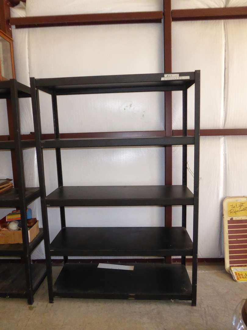 Lot # 26 - 5 Tier Metal Storage Shelf (main image)