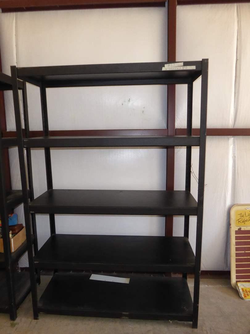Lot # 27 - 5 Tier Metal Storage Shelf  (main image)