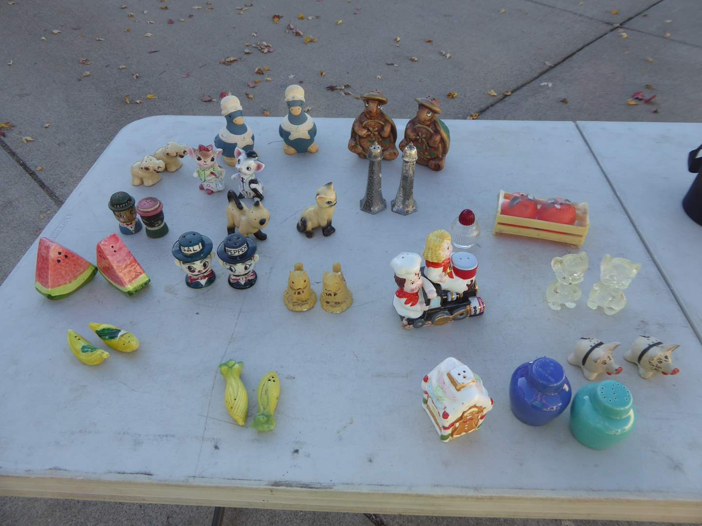 Lot # 35 - 40 Sets Of Salt & Pepper Shakers  (main image)