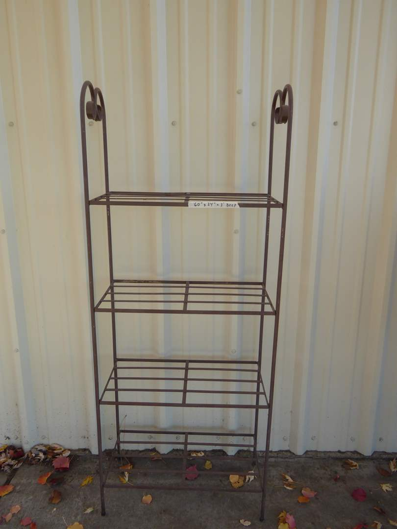 Lot # 203 - Metal Shelf  (main image)