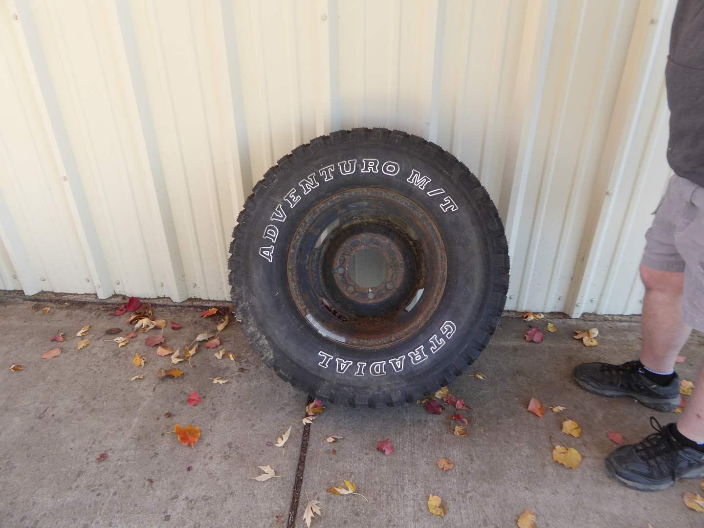 Lot # 226 - 1 GT Radial Aventuro Tire (265 75 R16)  (main image)