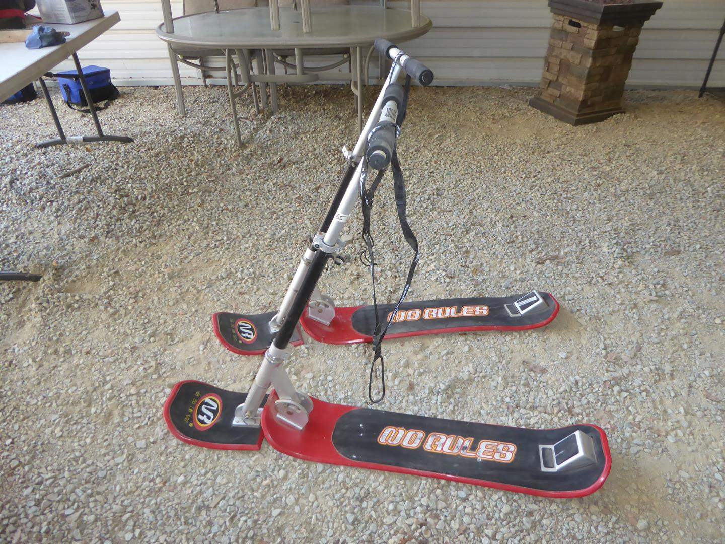 Lot # 65 - Two Snow Jack Snow Scooters (main image)