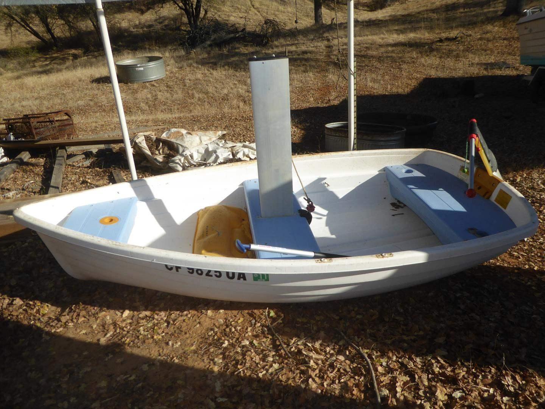 Lot # 96 - Walker Bay 3 Person Sailboat (main image)