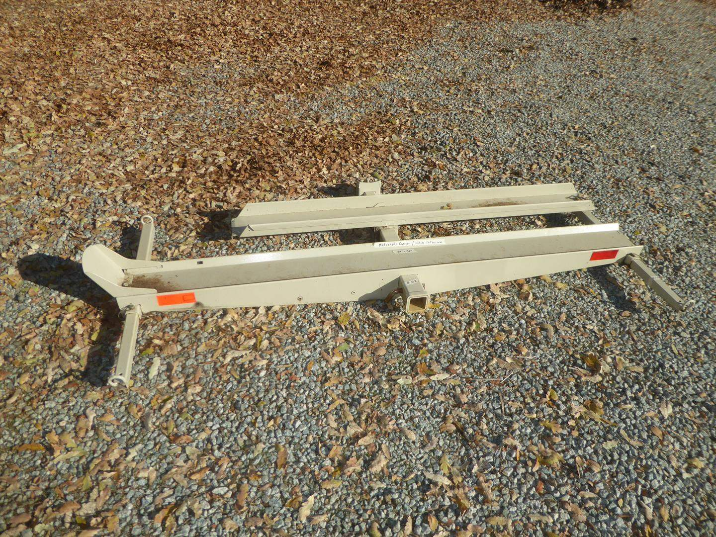 Lot # 102 - Motorcycle Carrier / Hitch Extension (main image)