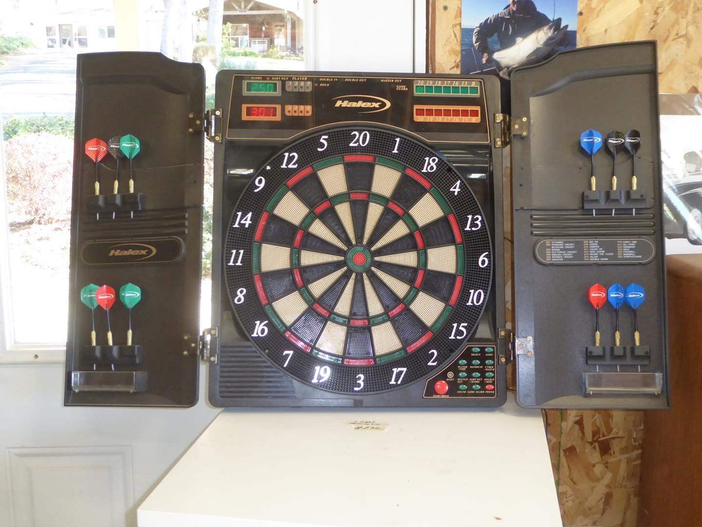 Lot # 236 - 'Halex' Electronic Dart Board (main image)