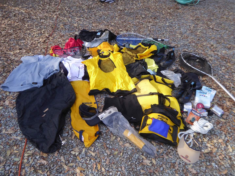 Lot # 36 - Kayak & Water Sportswear  (main image)