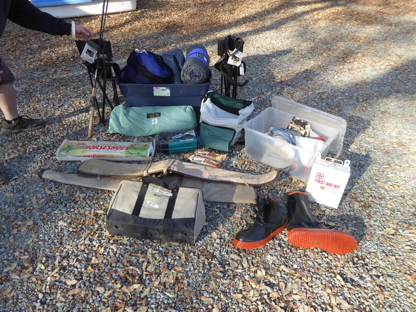 Lot # 37 - Fishing, Camping & Outdoor Sports Lot  (main image)