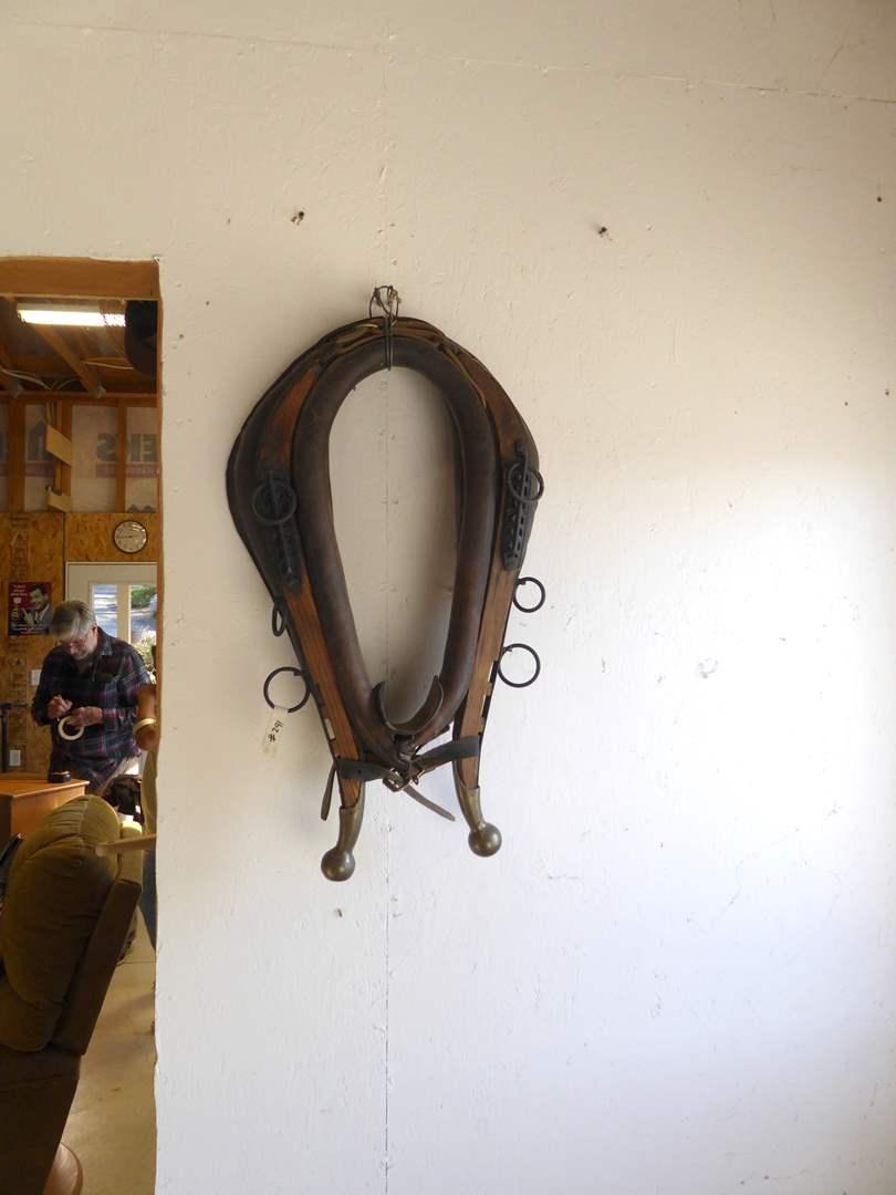 Lot # 291 - Vintage Horse Collar & Hames  (main image)