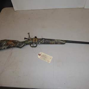 "Auction Thumbnail for: Lot #1 - 'Keystone' Model: Cricket Single Shot Rifle 22LR S/N 480946 - 30"" Long"