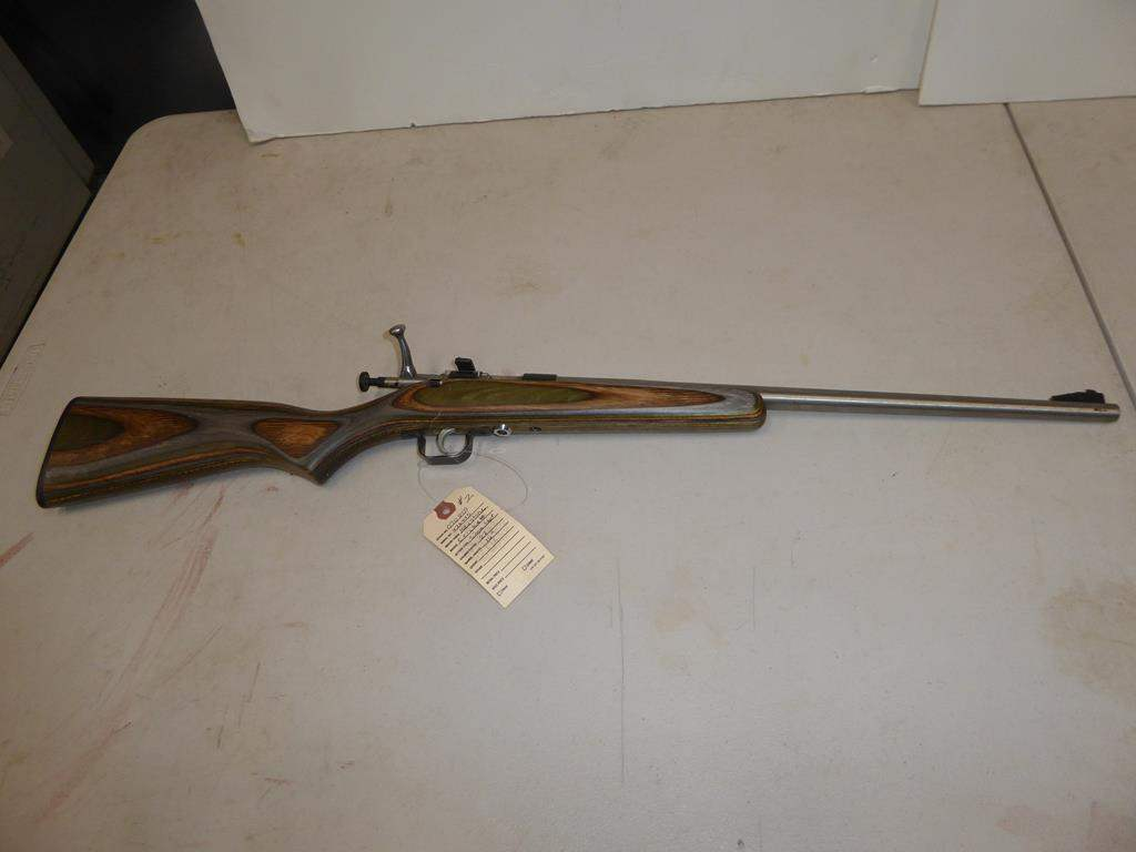 "Lot #2 - 'Keystone' Model: Cricket Single Shot Rifle 22LR S/N 476435 - 30"" Long (main image)"