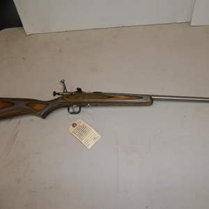 "Auction Thumbnail for: Lot #2 - 'Keystone' Model: Cricket Single Shot Rifle 22LR S/N 476435 - 30"" Long"