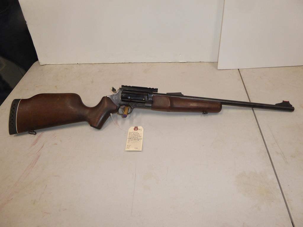 "Lot #5 - Taurus Circut Judge, Revolver Action Combo Cal. 410 Shotgun or 45 Long Colt S/N E49118 - 33"" Long (main image)"