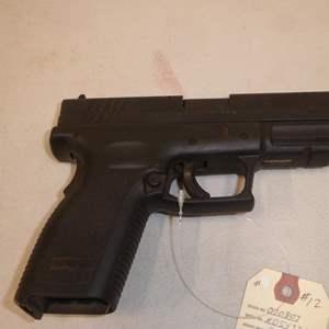 Auction Thumbnail for: Lot #12 - Springfield Semi Auto Handgun, Model XD40, 40 Cal. S/N XD547212