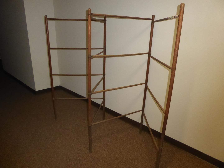 Lot # 82 -Antique Primitive Drying Rack (main image)