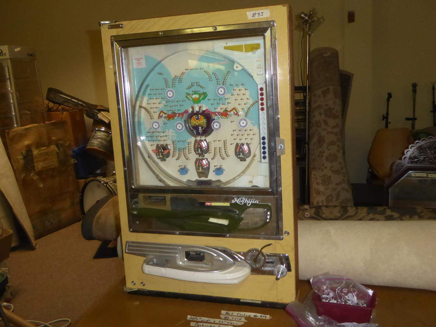 Lot # 85 - Vintage Pachinko Game - Not Tested - No Cord (main image)