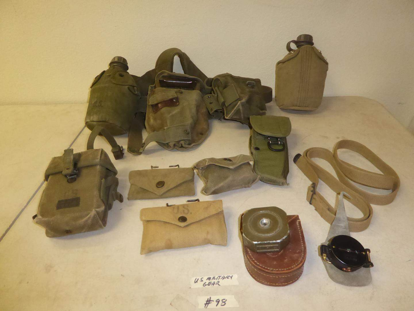 Lot # 98 - Vintage U.S. Military Gear (main image)