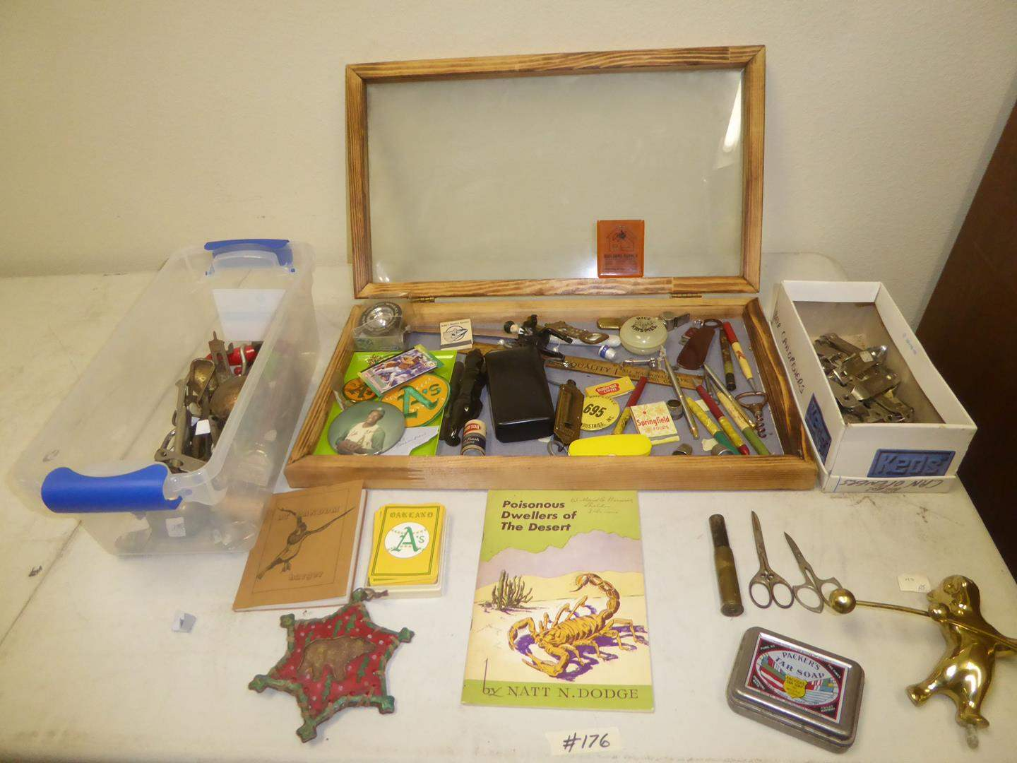 Lot # 176 - Oakland A's World Series Collection, Vintage Collectibles & Advertising Beer Can Openers (main image)