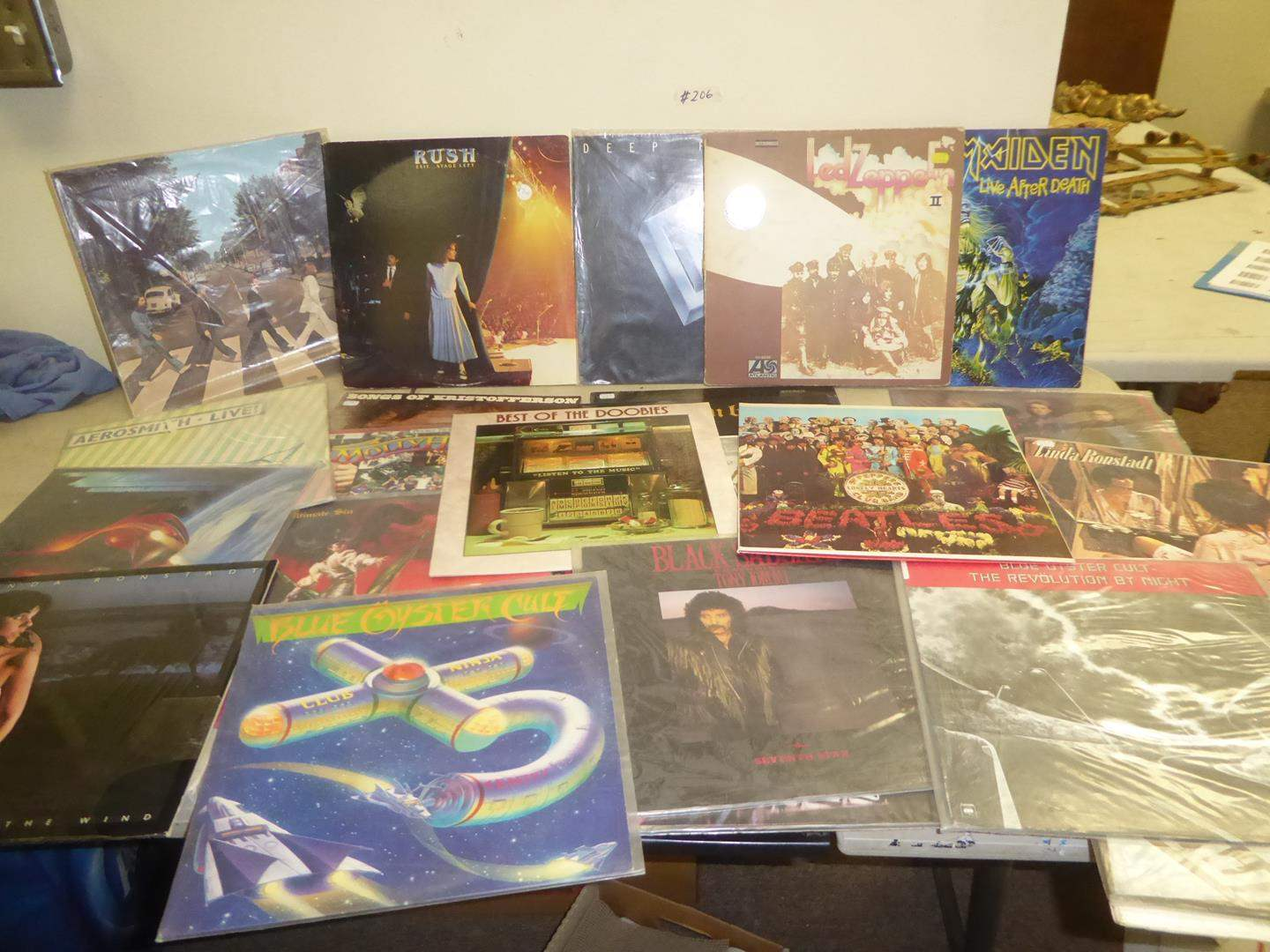 Lot # 206 - Rock & Roll Record Collection (main image)