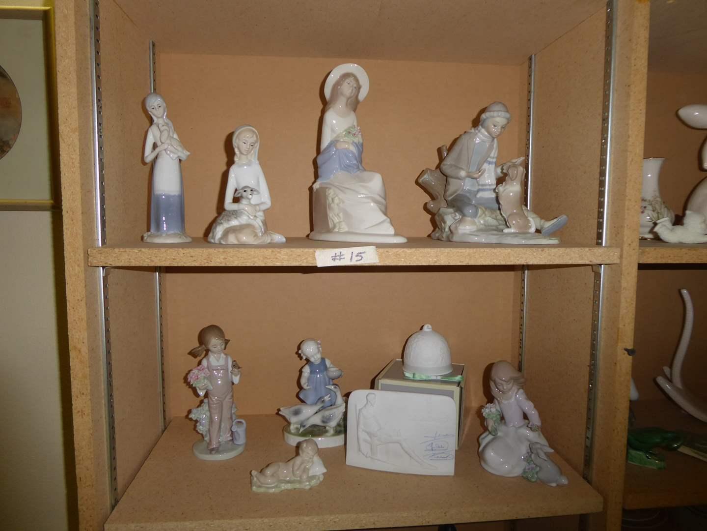 Lot # 15 - LLADRO Porcelain Figurines  (main image)