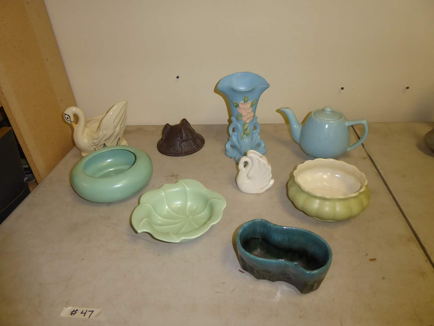 Lot # 47 - McCoy, Hull, Bauer & Red Wing Pottery  (main image)