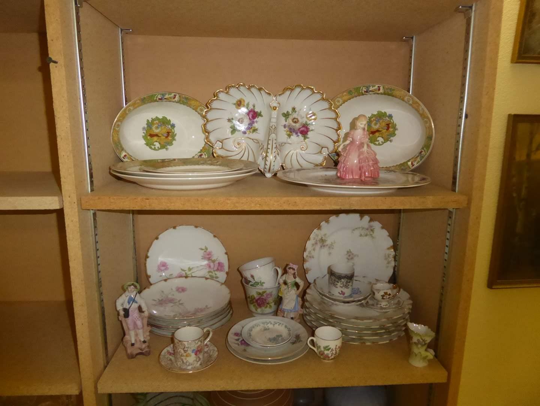 Lot # 232 - Miscellaneous China & Vintage Porcelain WKC Figurines  (main image)