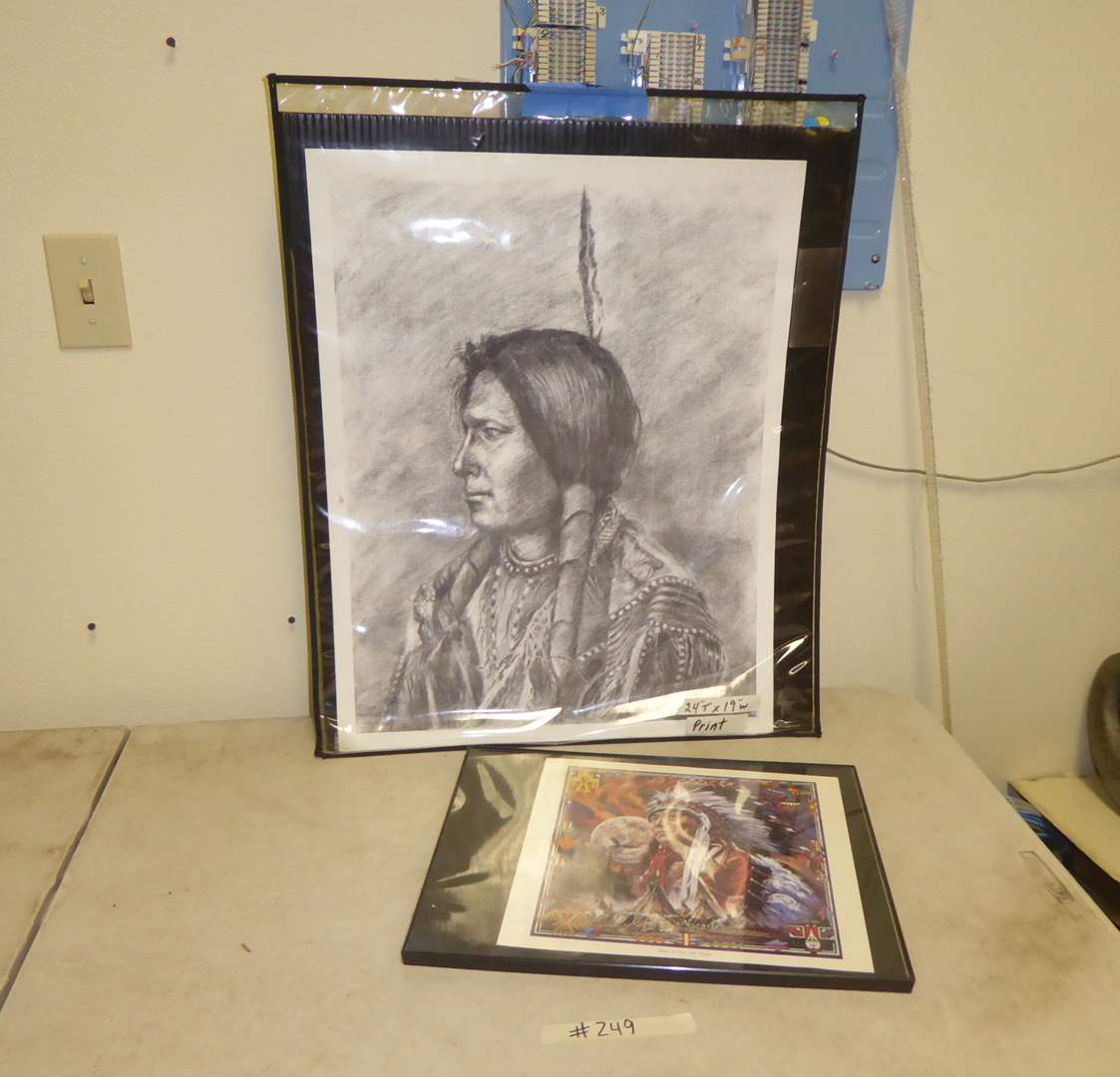 Lot # 249 - Two Native American Prints  (main image)