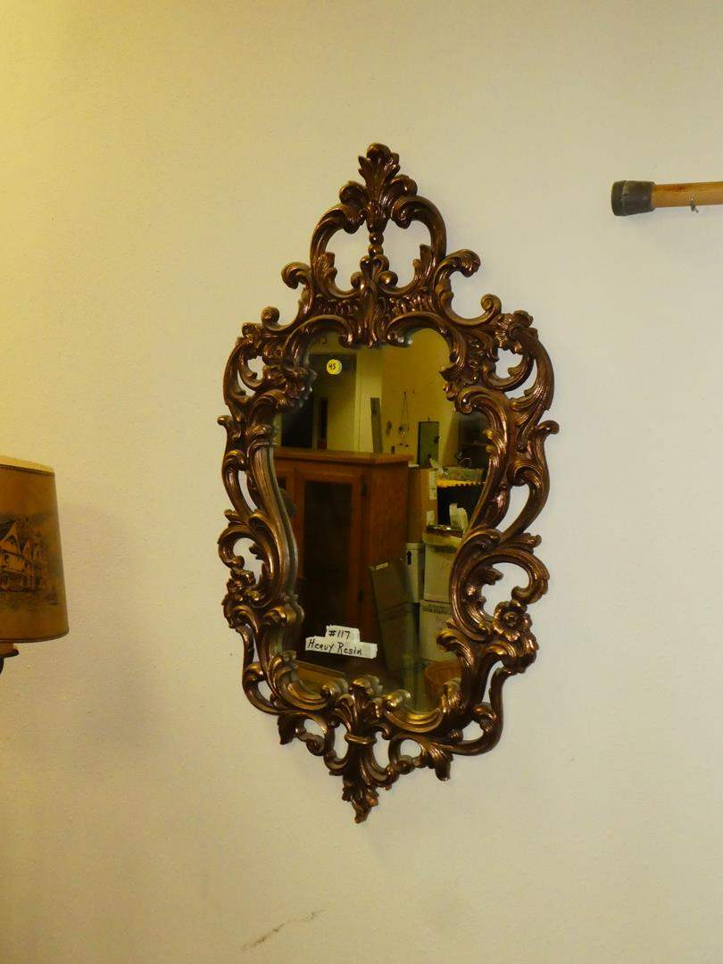 Lot # 117 - Antique Style Mirror (main image)