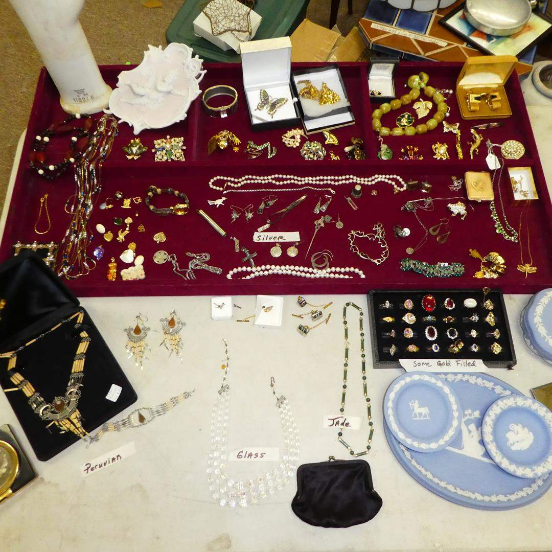 Lot # 156 - Vintage Costume Jewelry & More  (main image)
