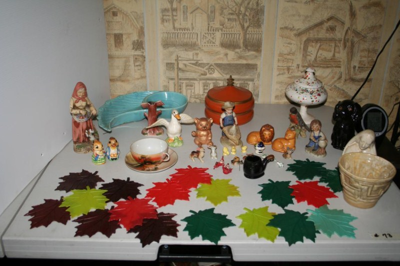 Lot #73 - Vintage Knick Knacks ~ Figurines - Pottery, Salt & Pepper .... (main image)