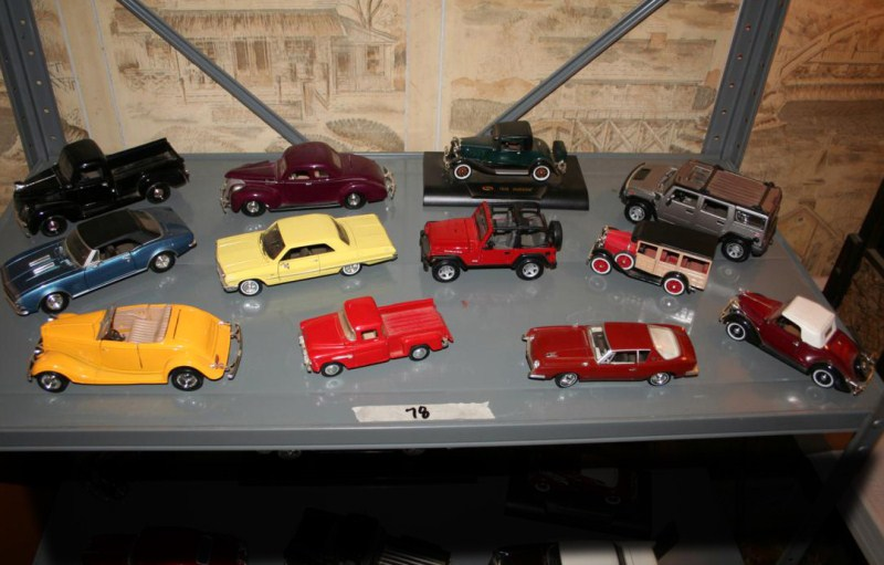 Lot #78 - One Dozen Diecast Cars and Trucks (main image)