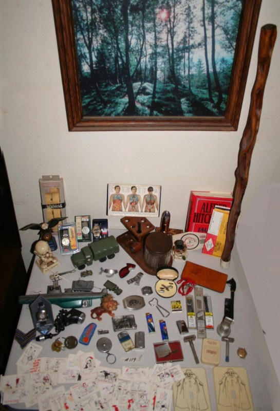 Lot #119 - Guys Lot ~ Loads of Collectibles  Watches, Military .. (main image)