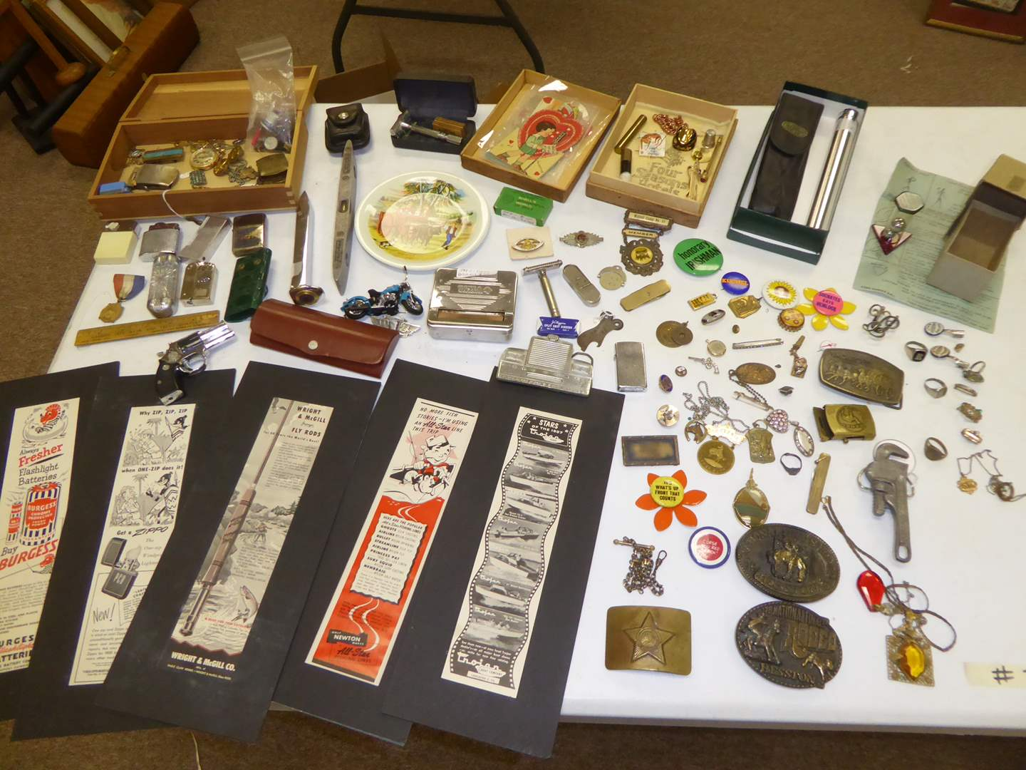 Lot # 30 - Vintage Advertisements, Jewelry & Collectibles  (main image)