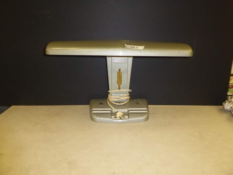 """Lot # 31 - Working Art Deco """"Moe"""" Airplane Lamp  (main image)"""