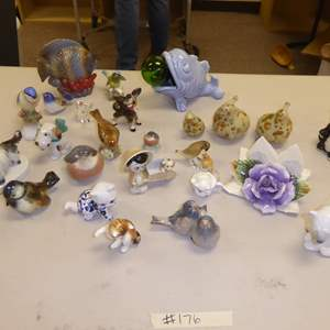 Auction Thumbnail for: Lot # 176 - Vintage & Modern Animal Figurines