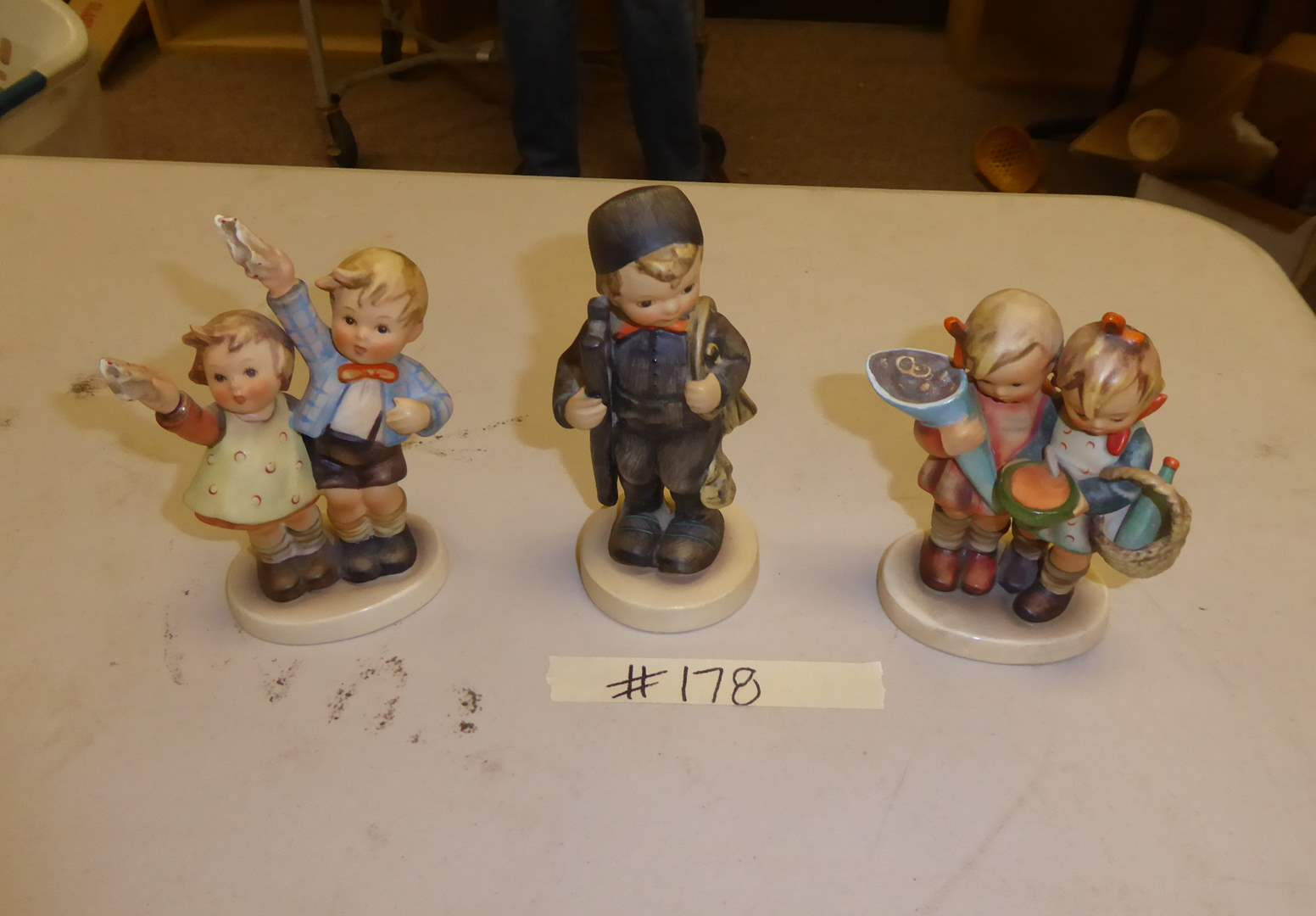 Lot # 178 - Three Vintage Hummel Figurines  (main image)