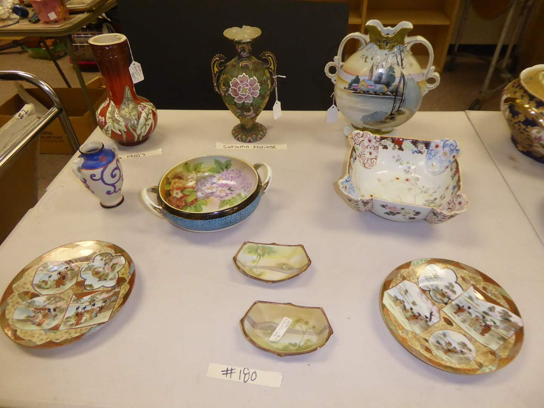 Lot # 180 - Vintage & Antique Vases & Bowls  (main image)