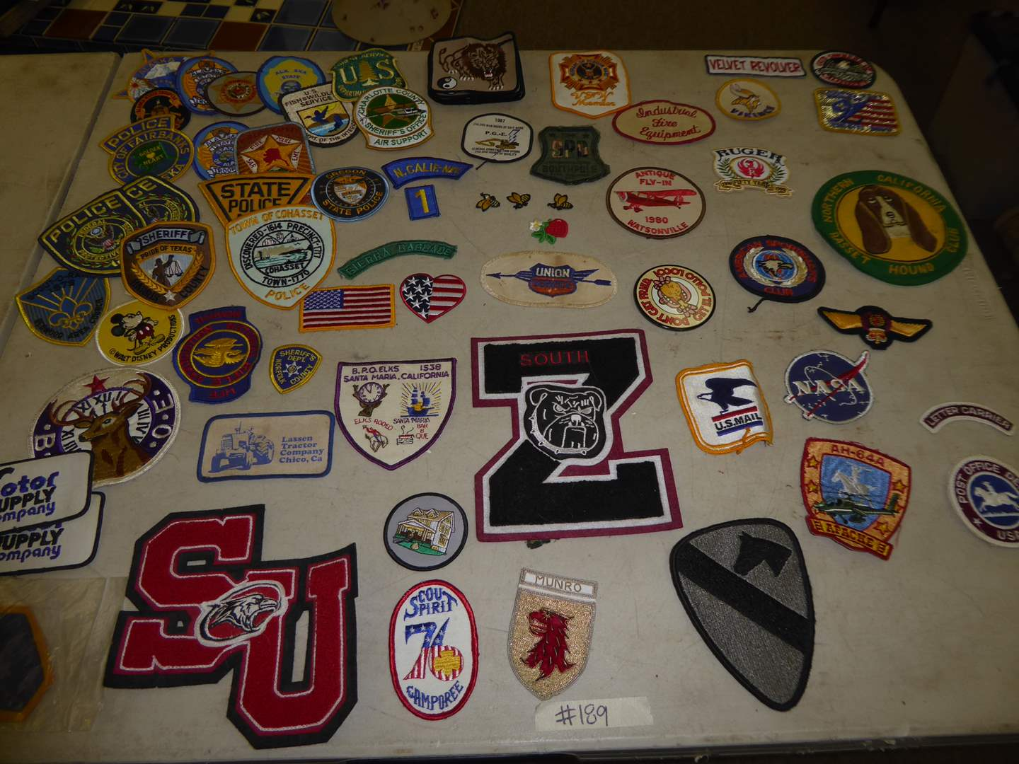 Lot # 189 - Vintage Patches (Police, College & More)   (main image)