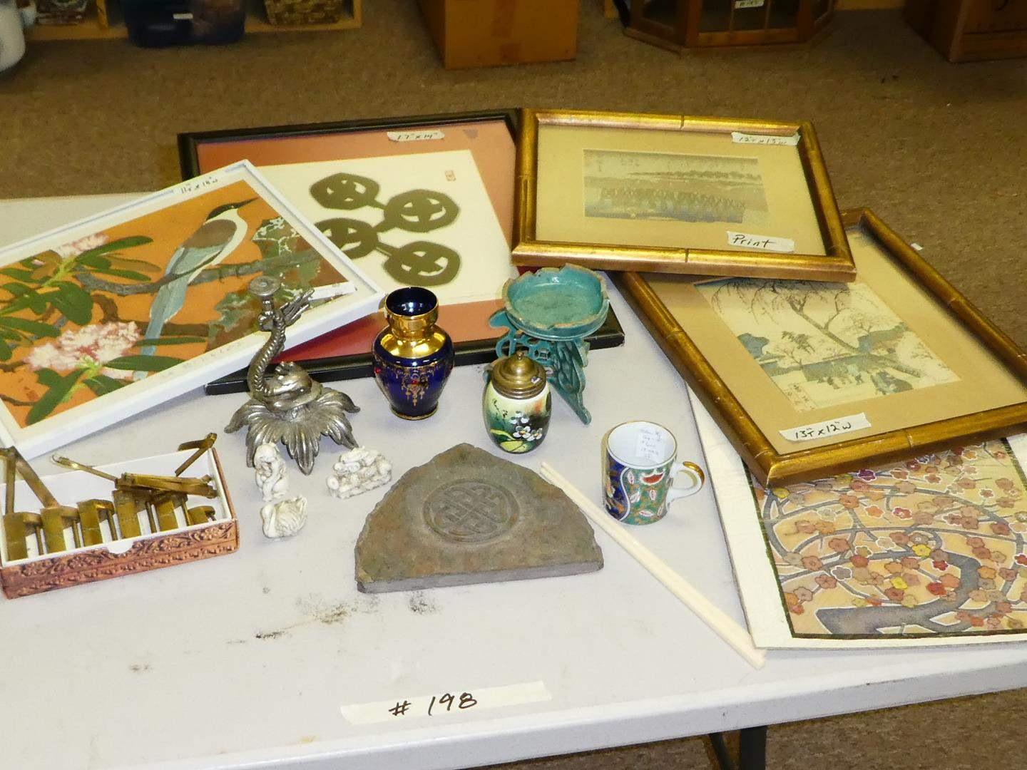 Lot # 198 - Asian Collectibles   (main image)