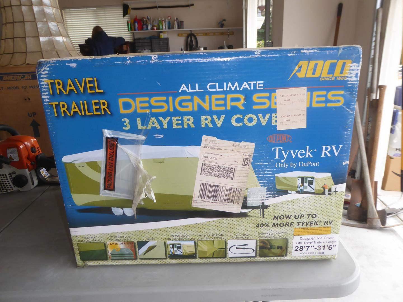 Lot # 53 - 'DuPont' Designer Series Tyvek 3 Layer RV Cover (NIB) (main image)