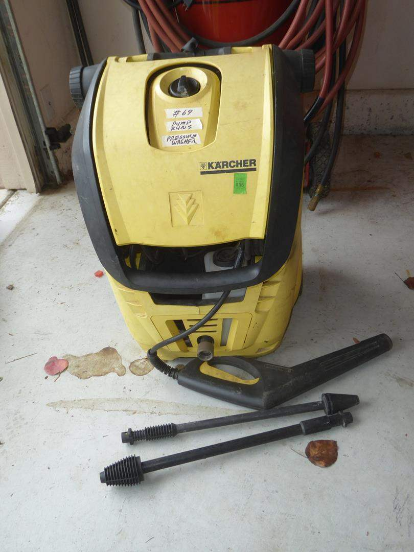 Lot # 69 - 'Karcher' Pressure Washer (main image)