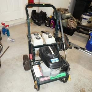 Auction Thumbnail for: Lot # 89 - Craftsman Pressure Washer - Honda Engine