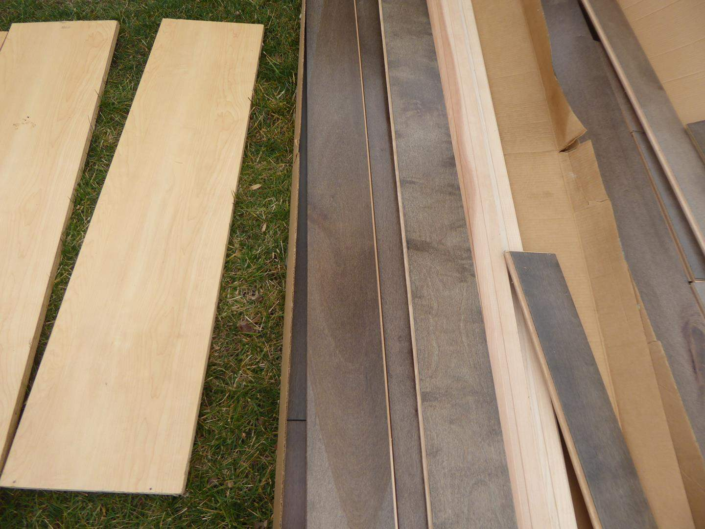 Lot # 31 - Misc. Lengths of  Nice Wood Flooring (main image)