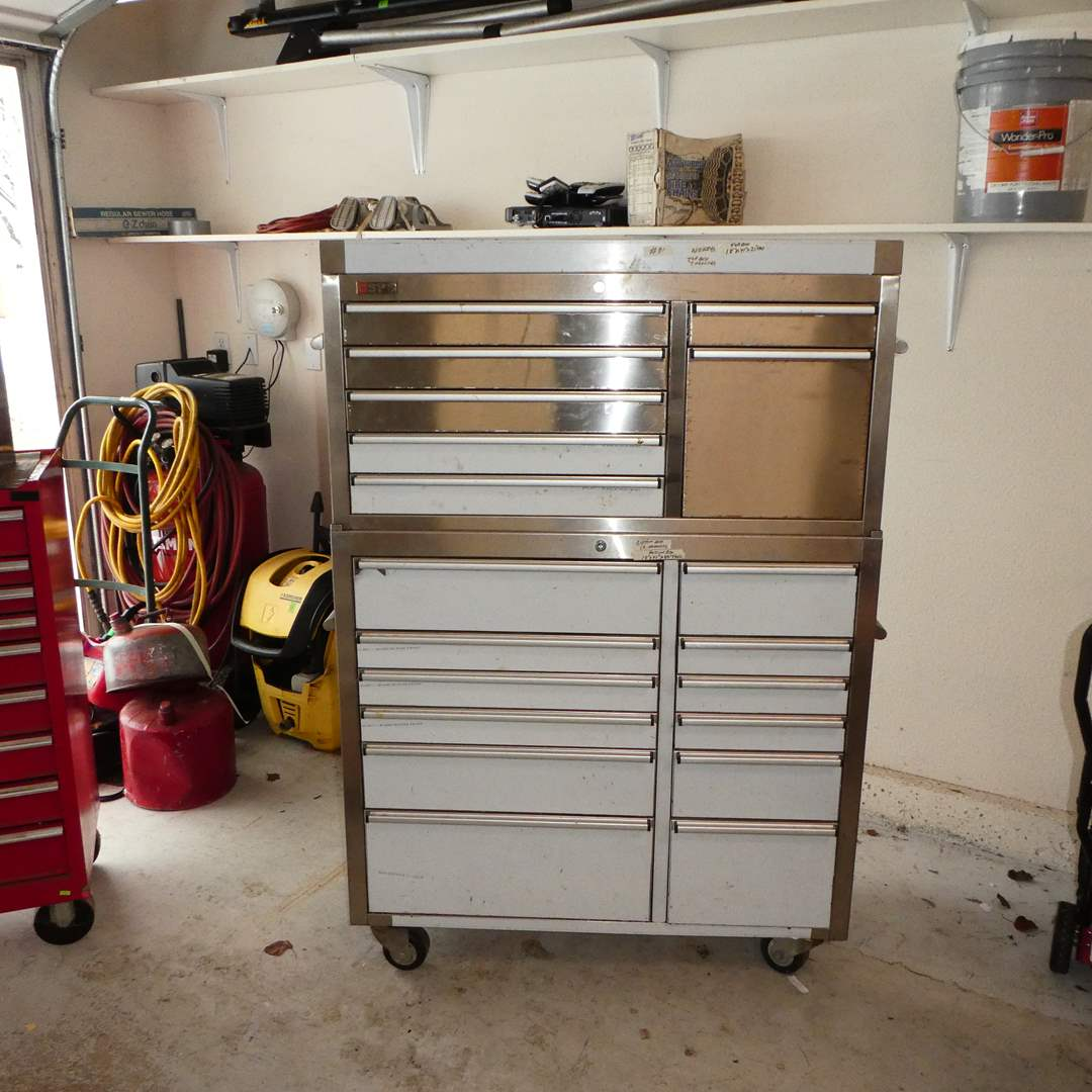 Lot # 91 - Large CSPS Tool Chest - Tools Included  (main image)