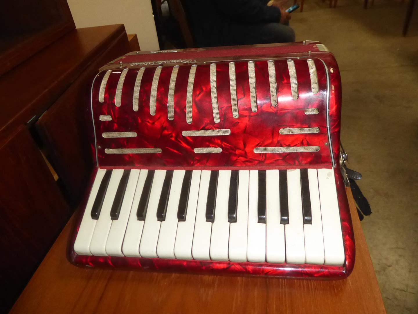 Lot # 73 - Vintage Recanati Accordion - Made in Italy (main image)