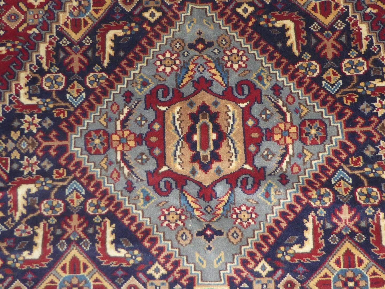 Lot # 229 - Vintage Genuine Hand Woven Wool Oriental Rug  (main image)